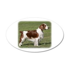 Welsh Springer Spaniel 9Y394D-041 22x14 Oval Wall