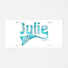 JULIE Aluminum License Plate