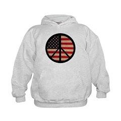 Peace w/ Flag of FREEDOM Hoodie