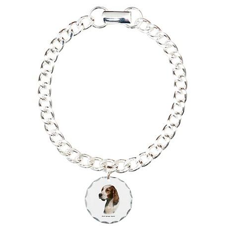 Welsh Springer Spaniel 9Y394D-046 Charm Bracelet,