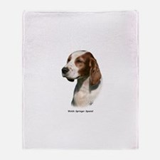 Welsh Springer Spaniel 9Y394D-046 Throw Blanket