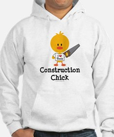 Construction Chick Hoodie
