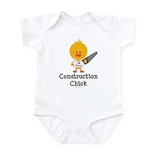 Construction Chick Infant Bodysuit