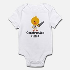Construction Chick Infant Bodysuit