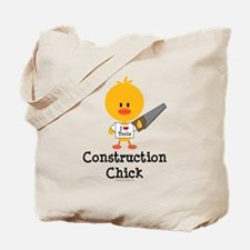 Construction Chick Tote Bag