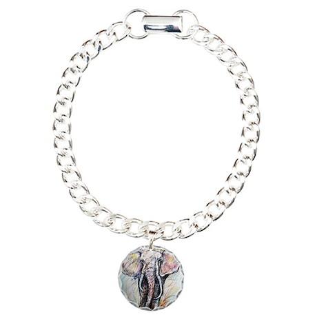 Wildlife, Elephant, Charm Bracelet, One Charm