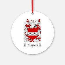 Crawford Ornament (Round)