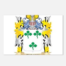 Tubman Family Crest - Coa Postcards (Package of 8)