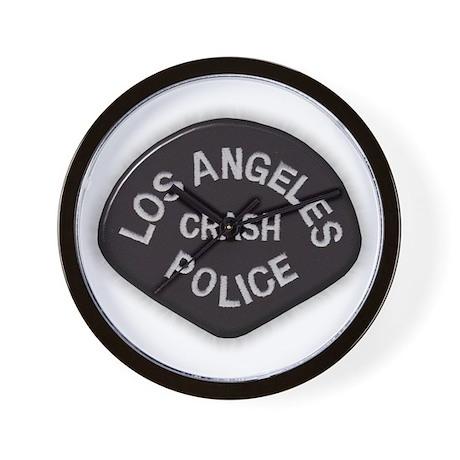 LAPD CRASH Wall Clock