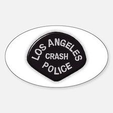 LAPD CRASH Decal