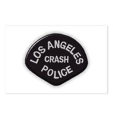 LAPD CRASH Postcards (Package of 8)