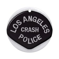 LAPD CRASH Ornament (Round)