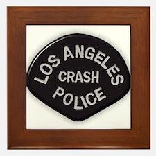 LAPD CRASH Framed Tile