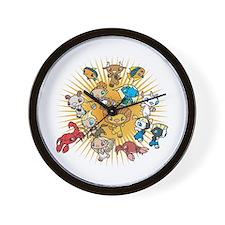 Cute Cancer zodiac sign Wall Clock