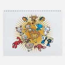 Cute Manga Wall Calendar