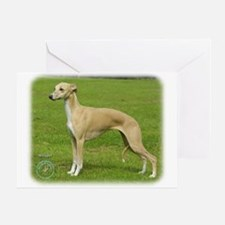 Whippet 9A002D-01 Greeting Card