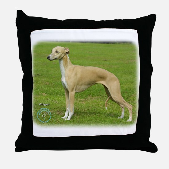 Whippet 9A002D-01 Throw Pillow