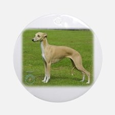 Whippet 9A002D-01 Ornament (Round)