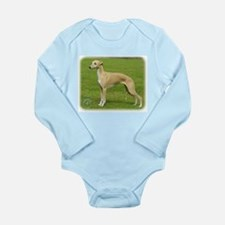 Whippet 9A002D-01 Long Sleeve Infant Bodysuit