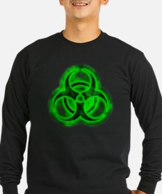 Green Glow Biohazard T