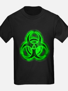 Green Glow Biohazard T