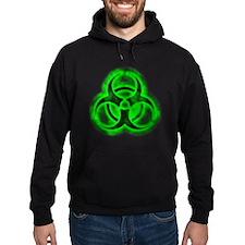 Green Glow Biohazard Hoody