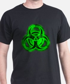 Green Glow Biohazard T-Shirt