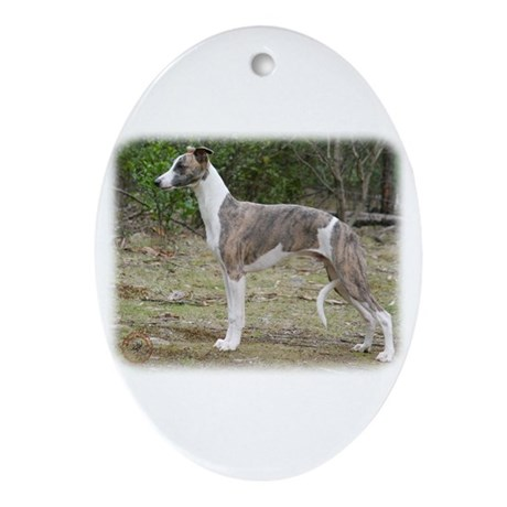 Whippet 9Y205D-213 Ornament (Oval)