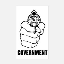 Government is Violence Decal