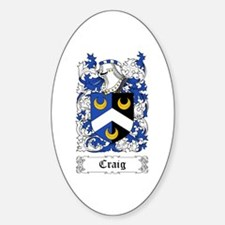 Craig Sticker (Oval)