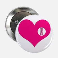 "HEART - YOU ARE HERE 2.25"" Button"