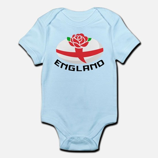 Rugby England Rose Infant Bodysuit