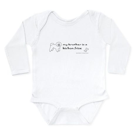 bichon frise gifts Long Sleeve Infant Bodysuit