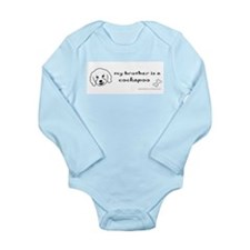cockapoo gifts Long Sleeve Infant Bodysuit