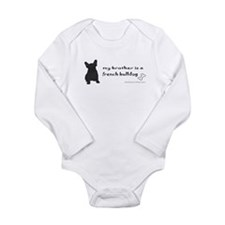 french bulldog gifts Long Sleeve Infant Bodysuit