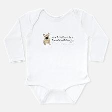 french bulldog gifts Long Sleeve Infant Bodysuit