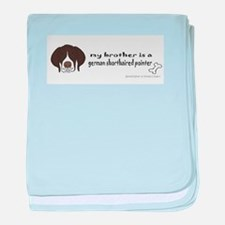 german shorthaired pointer gifts baby blanket