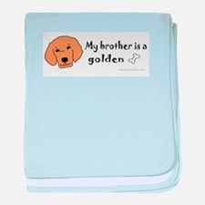 golden retriever gifts baby blanket