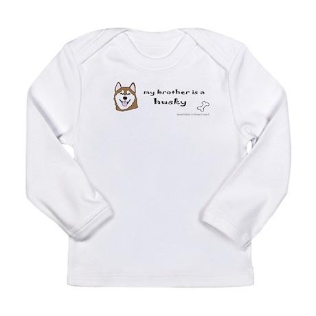 husky gifts Long Sleeve Infant T-Shirt
