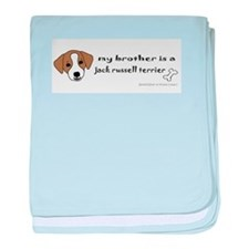 jack russell gifts baby blanket