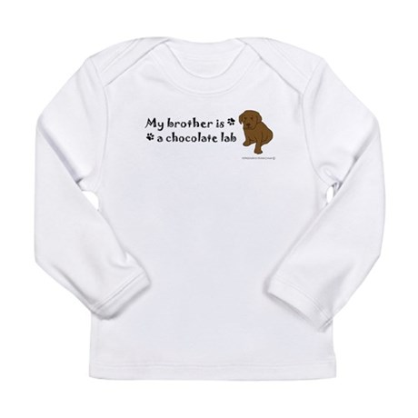 chocolate lab gifts Long Sleeve Infant T-Shirt