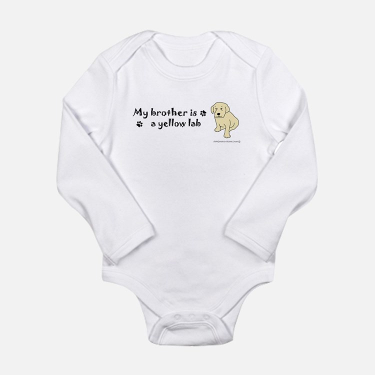 yellow lab gifts Onesie Romper Suit