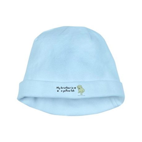 yellow lab gifts baby hat