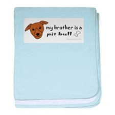 pit bull gifts baby blanket