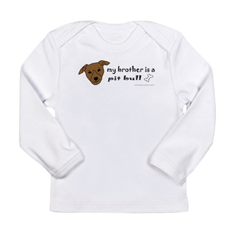pit bull gifts Long Sleeve Infant T-Shirt