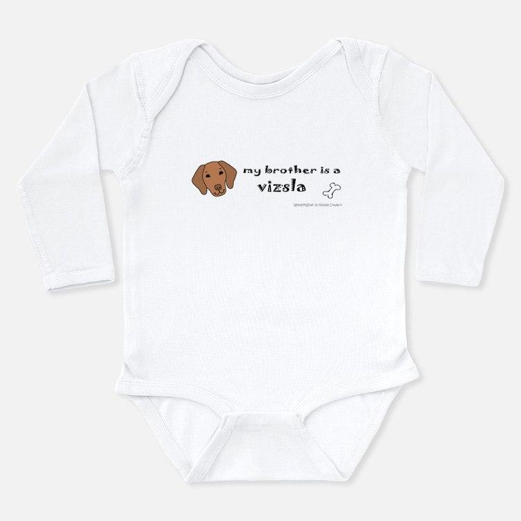 vizsla gifts Long Sleeve Infant Bodysuit