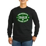 Charles' Irish Pub Long Sleeve Dark T-Shirt