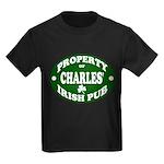 Charles' Irish Pub Kids Dark T-Shirt