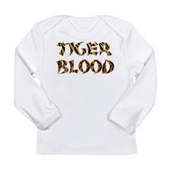 Tiger Blood Long Sleeve Infant T-Shirt