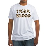Tiger Blood Fitted T-Shirt